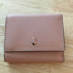 NWT ♠️ kate spade Polly Small Trifold Wallet